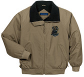 Mastiff jacket with embroidered front left chest