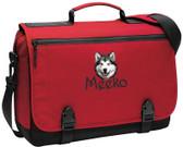 Alaskan Malamute Messenger Bag