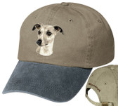 Whippet Cap with Lettering