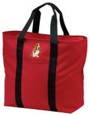 Basset Hound Tote Bag FRONT