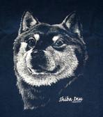 Shiba Inu T-shirt - Imprinted Shiba Head