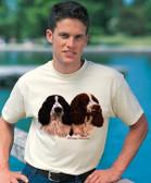 Springer Spaniel T-shirt - Imprinted Springer Spaniel