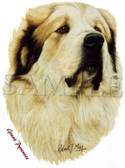 Great Pyrenees T-shirt - Imprinted Great Pyrenees