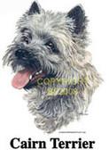 Cairn Terrier T-shirt - Imprinted Cairn Terrier Head