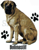 Bullmastiff T-shirt - Imprinted Bullmastiff