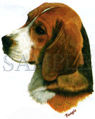 Beagle T-shirt - Imprinted Beagle Head