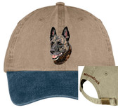 Dutch Shepherd Cap Personalized - Embroidered Back