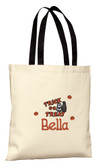 Halloween Trick or Treat Personalized Tote