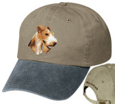 Fox Terrier Hat Personalized