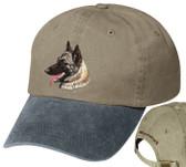 Belgian Malinois Personalized Hat