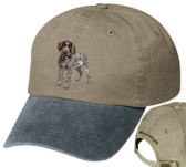 Wirehaired Pointing Griffon Personalized Hat