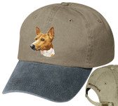Basenji Personalized Hat