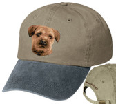 Border Terrier Personalized Hat