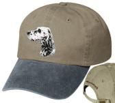 English Setter Personalized Hat