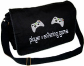 Video Game Personalized Diaper Bag Sample Font shown on diaper bag is 20thcenturyfaux