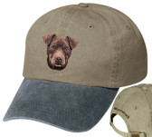 Patterdale Terrier Personalized Cap