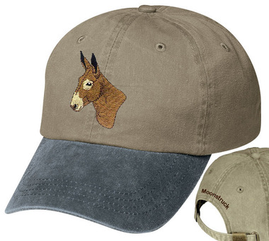 Mule Donkey Personalized Hat
