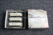 Bare Knuckle PAT Pend Strat Series '59 Slab Board Calibrated Set - Cream