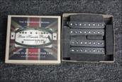 Bare Knuckle Aftermath 8 String Humbucker Pickups - Calibrated Black Open Set