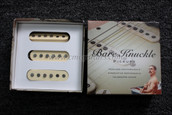 Bare Knuckle Irish Tour Single Coil Strat Pickup Calibrated Set - Cream