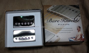 Bare Knuckle Riff Raff Humbucker Pickups - Calibrated Nickel Covered Set