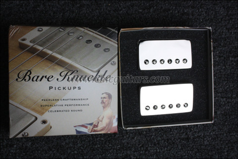 Bare Knuckle The Mule Humbucker Pickups - Calibrated Nickel Covered Set