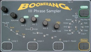 Boomerang Phrase Sampler III Effect Pedal