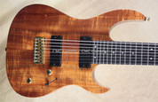 Carvin DC800 Koa 8 String Electric Guitar