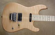 Charvel USA San Dimas Custom Shop 5A Flame Natural Guitar