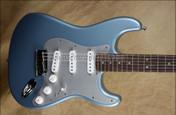 Fender FSR American Deluxe Stratocaster Ice Blue Metallic Strat Guitar