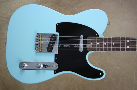 Fender Custom Shop Telecaster Tele '52 NOS Daphne Blue Rosewood Fretboard Guitar