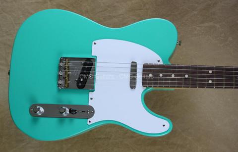 Fender Custom Shop Telecaster Tele '52 NOS Sea Foam Green Rosewood Fretboard Guitar