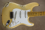 Fender Custom Shop '57 Strat Heavy Relic Stratocaster Nocaster Blonde Guitar