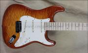 Fender Custom Shop NAMM 2012 Custom Deluxe Stratocaster Faded Honey Burst Guitar