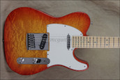 Fender Custom Shop NAMM 2012 Custom Deluxe Telecaster Faded Cherry Burst Guitar