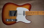 Fender Custom Shop NAMM 2013 Custom Deluxe Ash Telecaster Tele Tobacco Burst Guitar