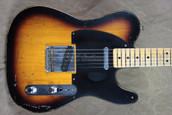 Fender Custom Shop Telecaster '51 Nocaster Relic 2 Tone Sunburst Guitar
