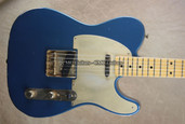 Fender Custom Shop Tele '52 Telecaster 2013 NAMM Relic Lake Placid Blue Guitar