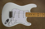 Fender Custom Shop NOS '69 Stratocaster Olympic White Strat Guitar