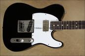 Fender Custom Shop Tele Deluxe Humbucker 4-Way Switch Telecaster Black Guitar