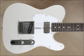 Fender Custom Shop Tele Deluxe Humbucker 4-Way Switch Telecaster Blizzard Pearl Guitar