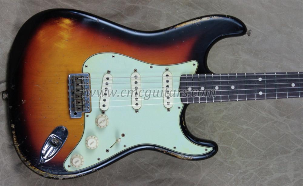 Fender Custom Shop Masterbuilt \'60 Relic Stratocaster 3T Sunburst ...