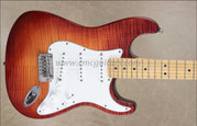 Fender Select Stratocaster Dark Cherry Sunburst Guitar