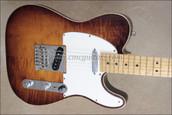 Fender Select Telecaster Tele Violin Burst Guitar Chrome Hardware