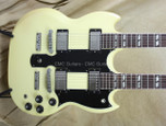 Gibson Vintage 1981 ES-1275 Double Neck Vintage White Guitar