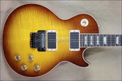 Gibson Custom Shop Les Paul Axcess Floyd Rose Iced Tea Burst Guitar