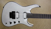 Jackson USA Chris Broderick Signature Trans White Soloist 6 String Guitar