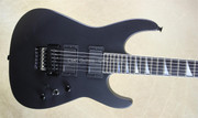 Jackson USA Custom Shop DK1 Dinky Satin Black Reverse Inlay Guitar