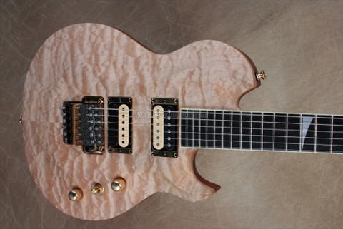 Jackson USA Custom Shop 2011 NAMM PC1 Supreme Natural Finish Electric Guitar