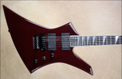 Jackson USA Custom Shop Select KE2 Kelly NAMM 2013 Midnight Wine Guitar